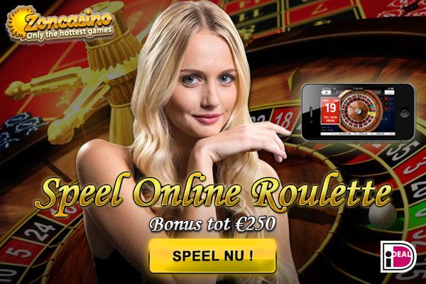 Zon Casino live roulette spelen
